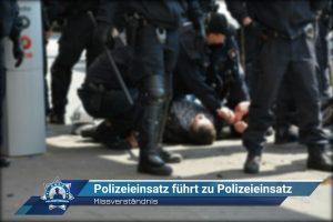 Missverständnis: Polizeieinsatz führt zu Polizeieinsatz