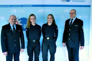Bild: KreispoAuslandspraktikum: Zwei Niederländerinnen zu Gast bei ihren deutschen Kollegenlizeibehörde Hochsauerlandkreis