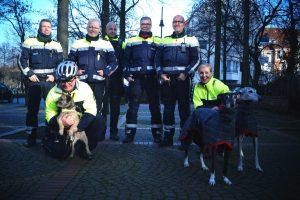Dritter Kölner Galgo-Marsch in Begleitung der Polizei