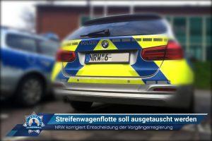 Nordrhein-Westfalen korrigiert Entscheidung der Vorgängerregierung: Streifenwagenflotte soll ausgetauscht werden