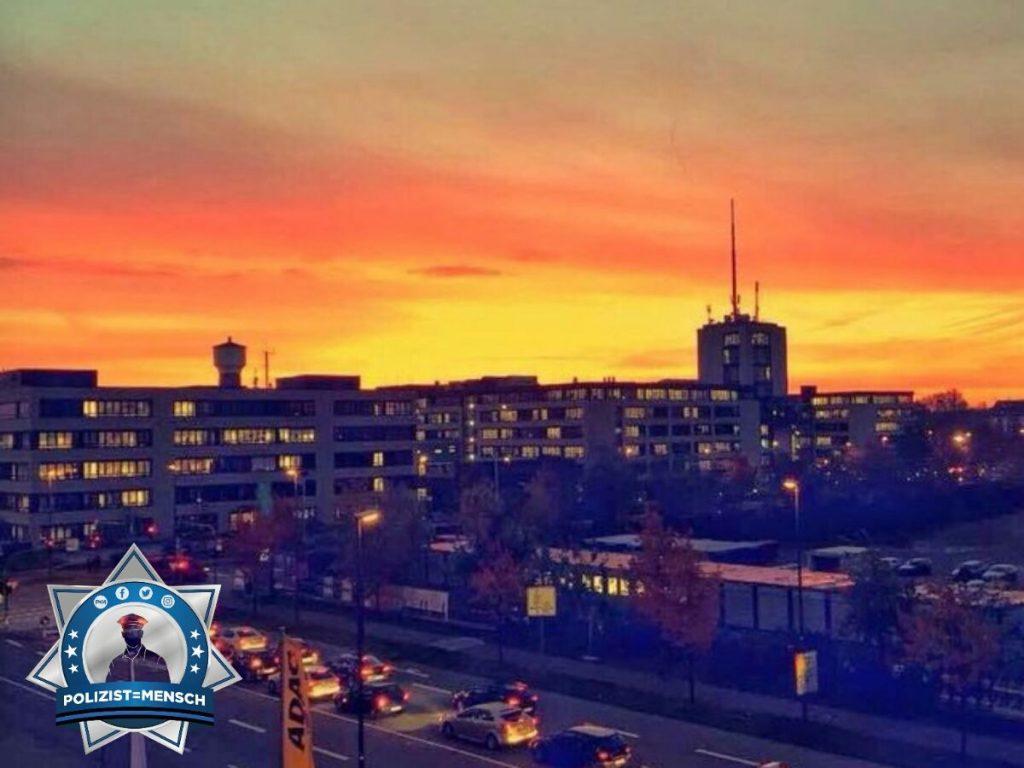 Sonnenaufgang über dem PP Köln