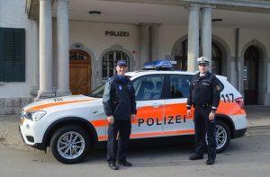 Deutscher Polizist sammelt Erfahrungen beim Schweizer Polizeikorps
