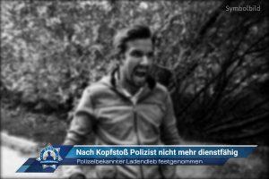 Polizeibekannter Ladendieb festgenommen: Nach Kopfstoß Polizist nicht mehr dienstfähig