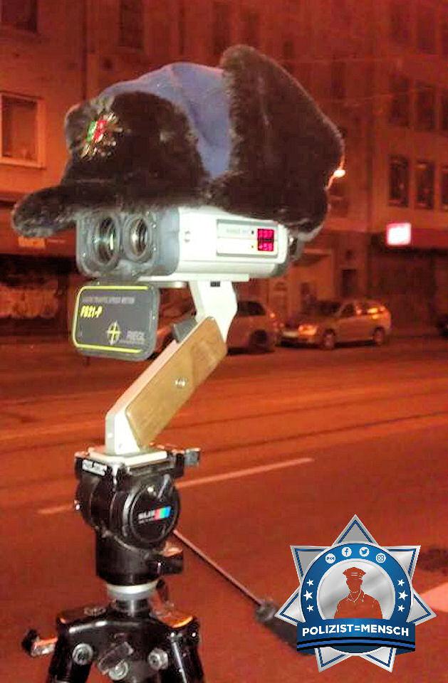 Nummer 5 bei der Polizei, oder: Wenn es selbst dem Lasermessgerät zu kalt ist