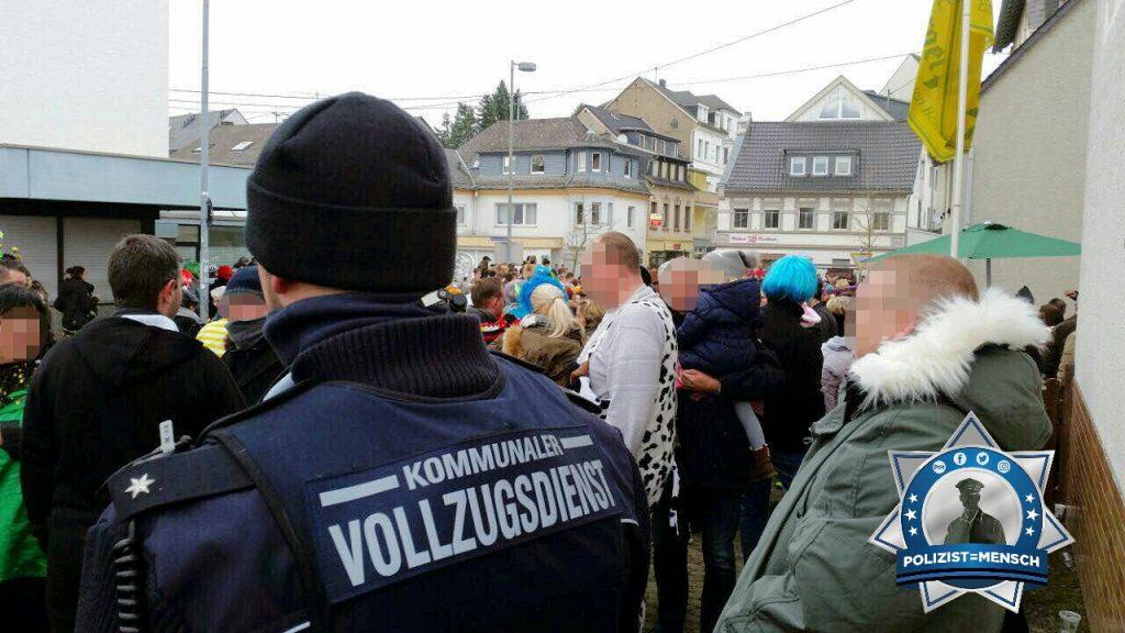 Nicht nur die Polizei war an den Karnevalstagen beschäftigt