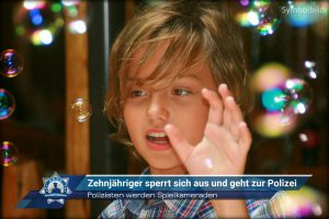 Polizisten werden Spielkameraden: Zehnjähriger sperrt sich aus und geht zur Polizei