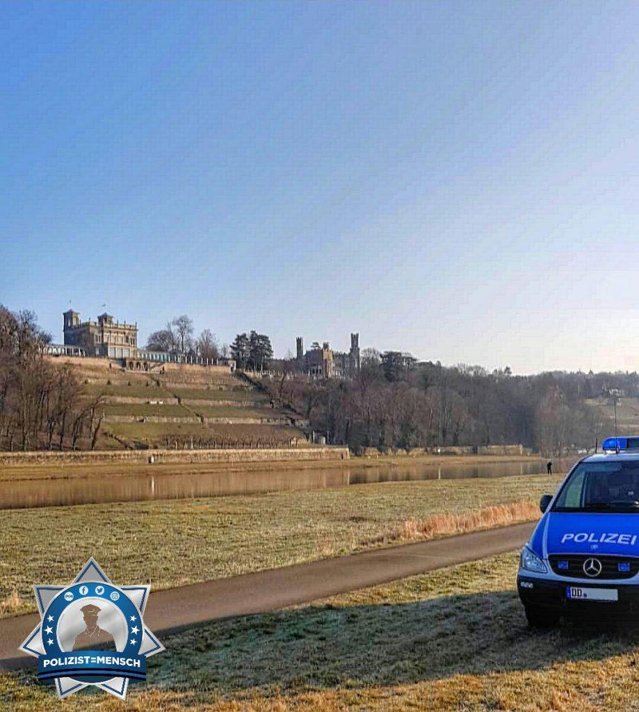 """""""Viele Grüße aus Dresden an einem sonnigen Frühdienst. VG André"""""""