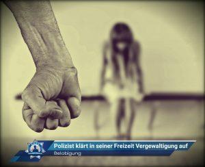 Belobigung: Polizist klärt in seiner Freizeit Vergewaltigung auf