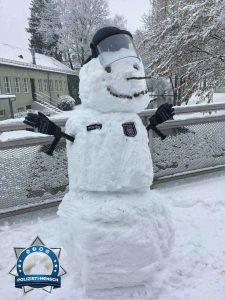 Bildgruß von den bei der Sicherheitskonferenz in München eingesetzten Kollegen