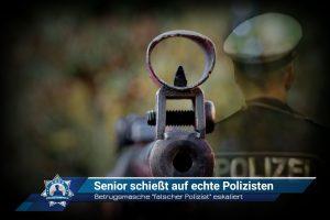 """Betrugsmasche """"falscher Polizist"""" eskaliert: Senior schießt auf echte Polizisten"""