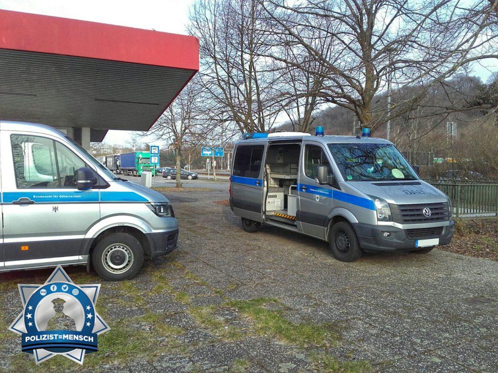 """""""Gruß aus dem Saarland von der Wochenruhezeitkontrolle des BAG, Jörg"""""""