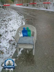"""""""Heißer Sitz"""" bei eisigen Temperaturen für Standposten bei Bombenentschärfung"""