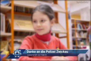 Leserbrief von Katrin: Danke an die Polizei Zwickau