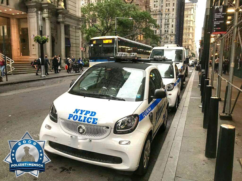 NYPD fährt deutsche Autos