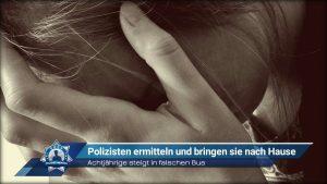 Achtjährige steigt in falschen Bus: Polizisten ermitteln und bringen sie nach Hause