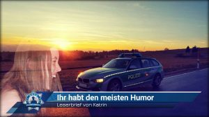 Leserbrief von Katrin: Ihr habt den meisten Humor