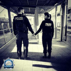 Gedanken einer Polizistin, die mit einem Polizisten liiert ist