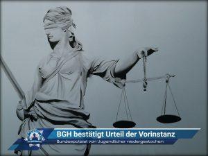Bundespolizist von Jugendlicher niedergestochen: Bundesgerichtshof bestätigt Urteil der Vorinstanz