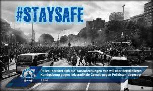 1. Mai: Polizei bereitet sich auf Ausschreitungen vor, will aber deeskalieren