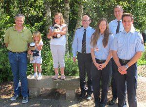 Hochschule der Polizei Rheinland-Pfalz spendet an Familie von getöteter Polizistin in Luxemburg