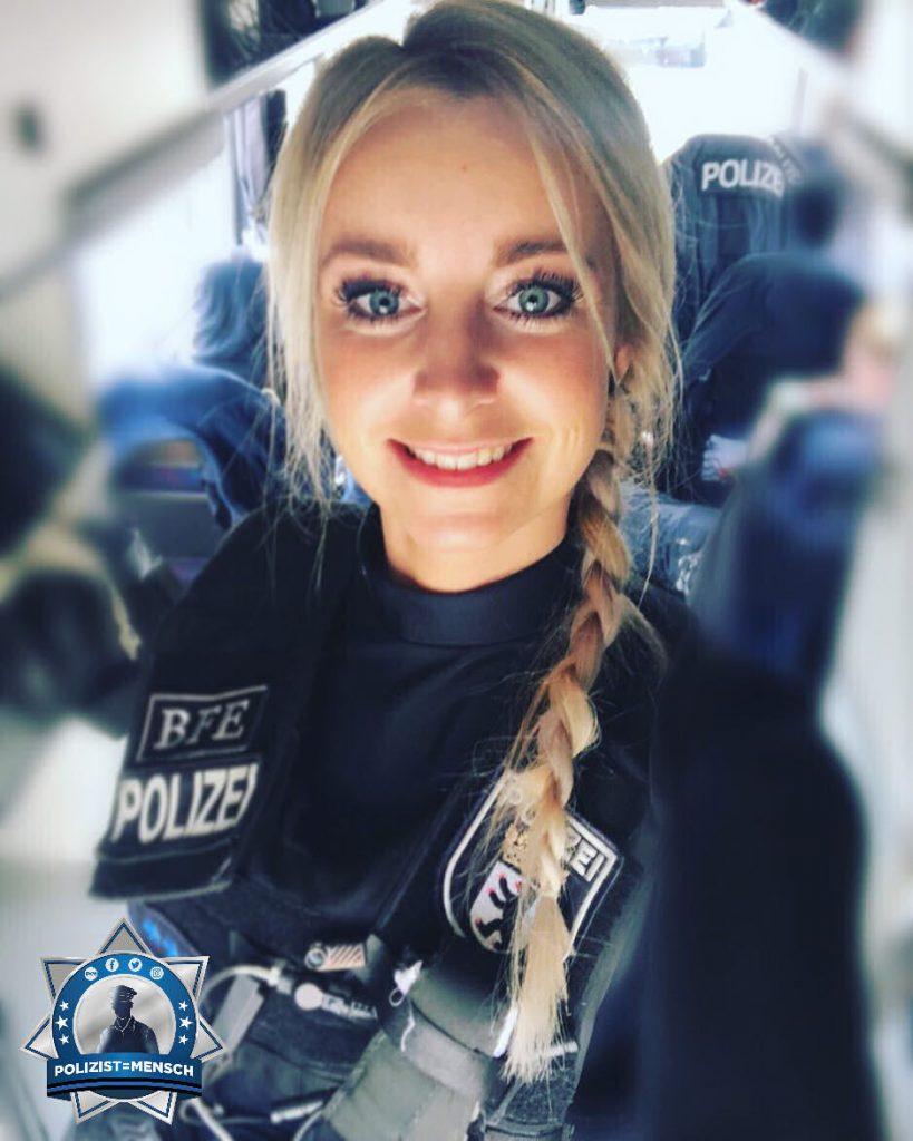 """""""Stolz darauf, eine Polizistin zu sein"""""""