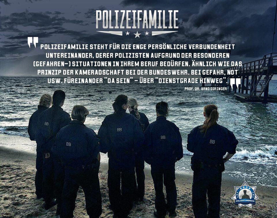 Was bedeutet für euch #Polizeifamilie?