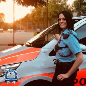 Kollegin Rahel von der Stadtpolizei Winterthur stellt sich vor