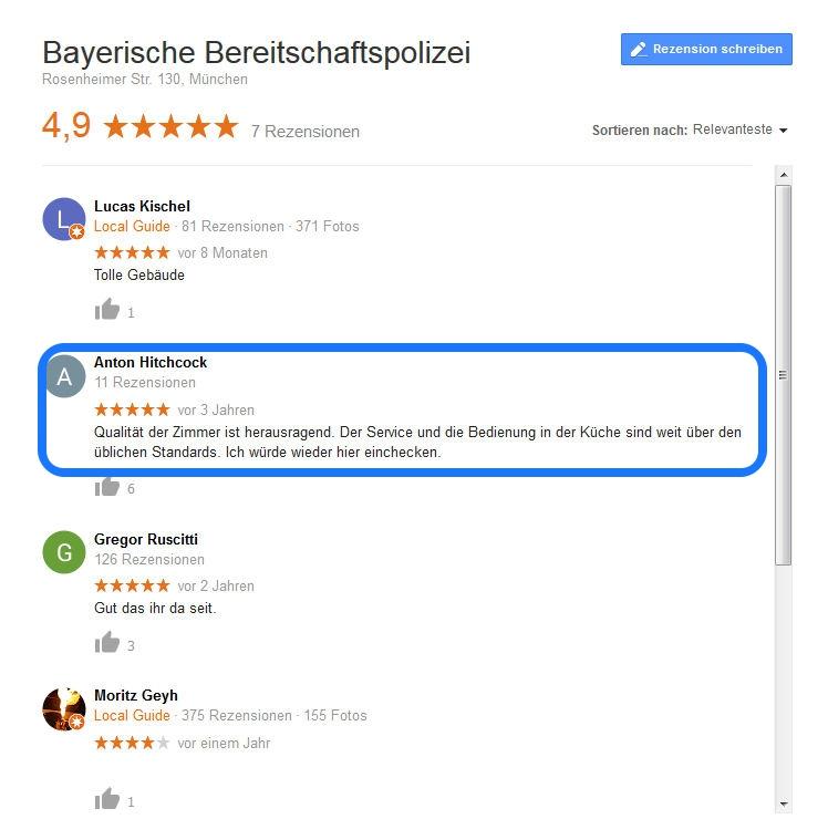 Urlaubstipp: Bayerische Bereitschaftspolizei
