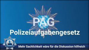 Bayerisches Polizeiaufgabengesetz: Etwas mehr Sachlichkeit wäre für die Diskussion hilfreich