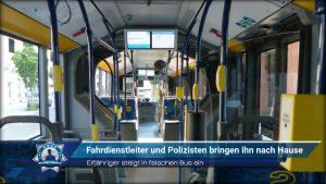 Elfjähriger steigt in falschen Bus ein: Fahrdienstleiter und Polizisten bringen ihn nach Hause