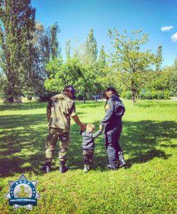 Wir sind Familie. Polizist=Mensch - Soldat=Mensch.