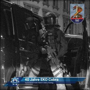 Spezialeinheit feiert Geburtstag: 40 Jahre EKO Cobra