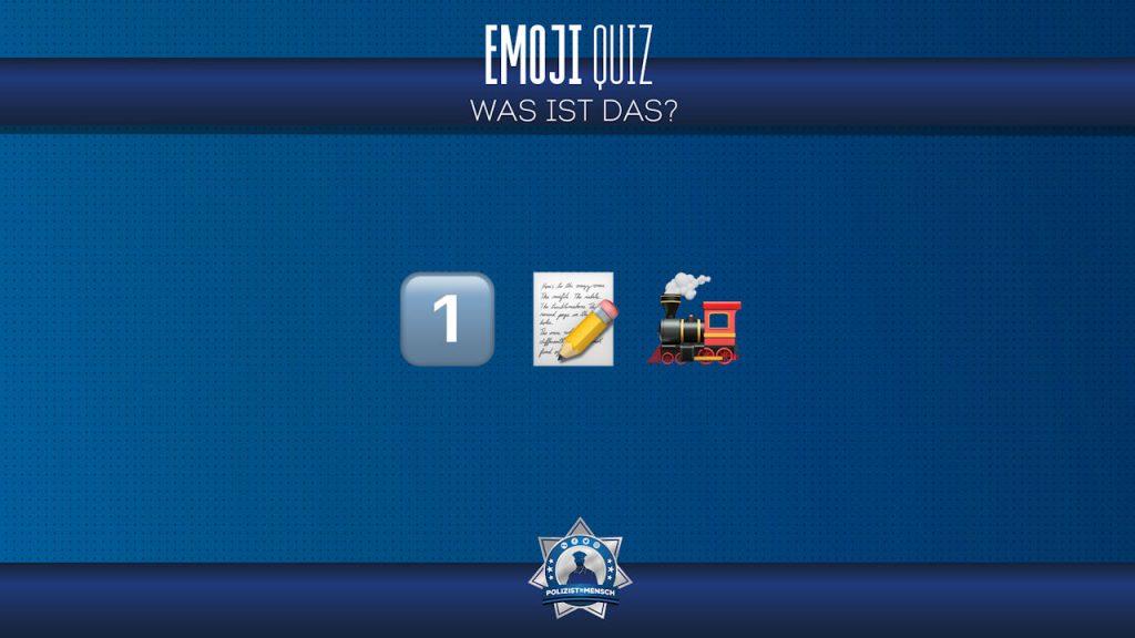 Zeit für den nächsten Teil unseres Emoji-Quiz. Was ist das?