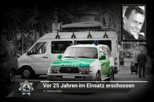 In Memoriam: PK Michael Newrzella vor 25 Jahren im Einsatz erschossen