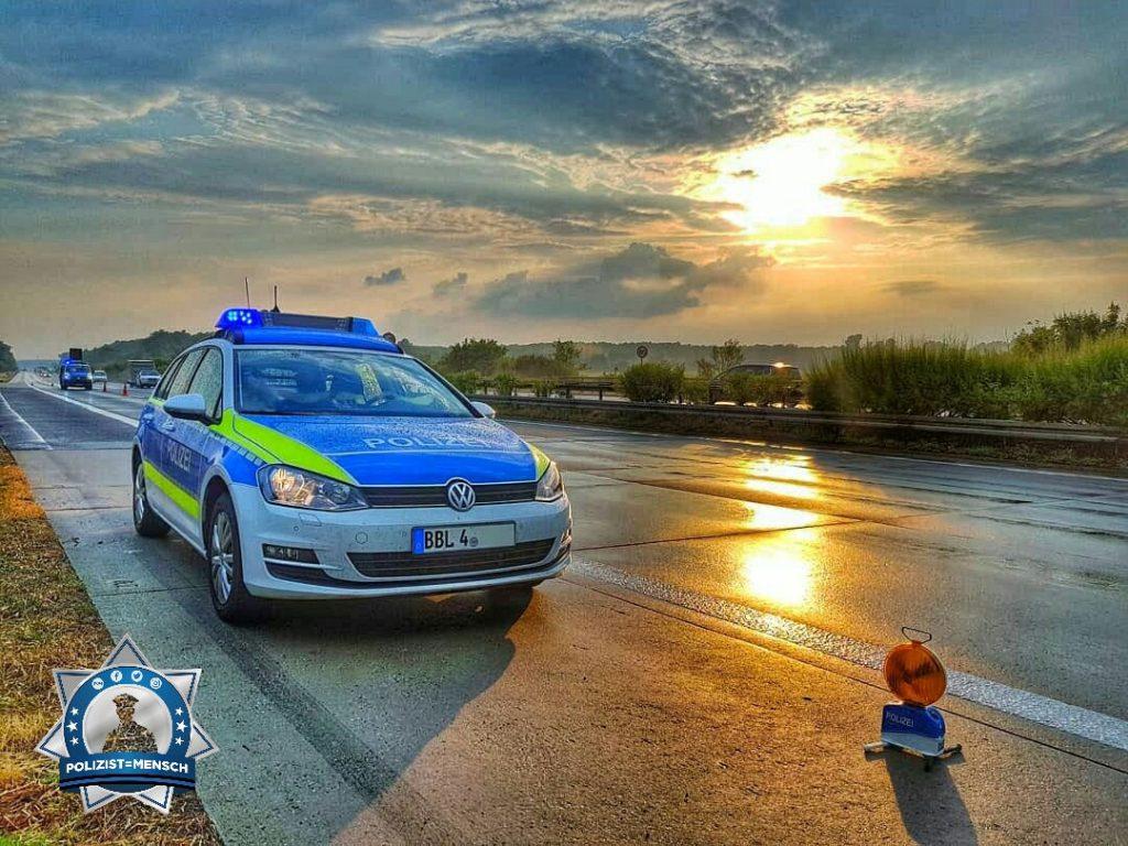 Wenn der Streifendienst die Autobahnkollegen unterstützt
