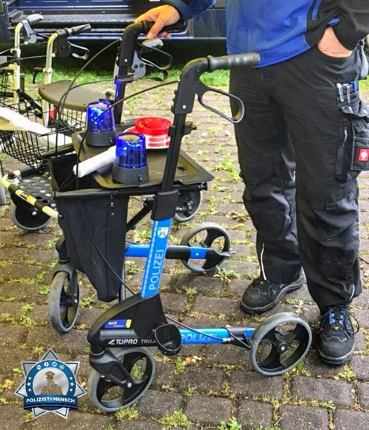 Auch die Polizei wird älter. Neues Streifenwagenmodell für die Rente ab 70
