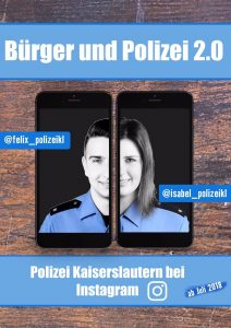 Community Policing: Polizisten werden persönliche Ansprechpartner auf Instagram
