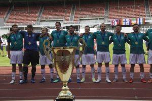Polizeifußballnationalmannschaft: Nicht Weltmeister, aber Europameister