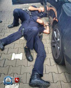 Wenn Polizisten sich zur Seite legen