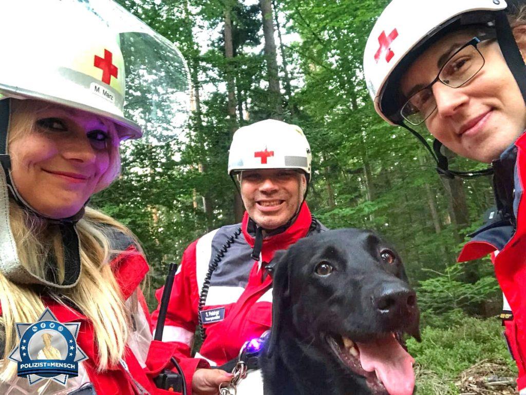 Polizist und ehrenamtlicher Rettungshundeführer