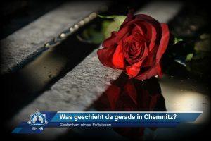 Gedanken eines Polizisten: Was geschieht da gerade in Chemnitz?