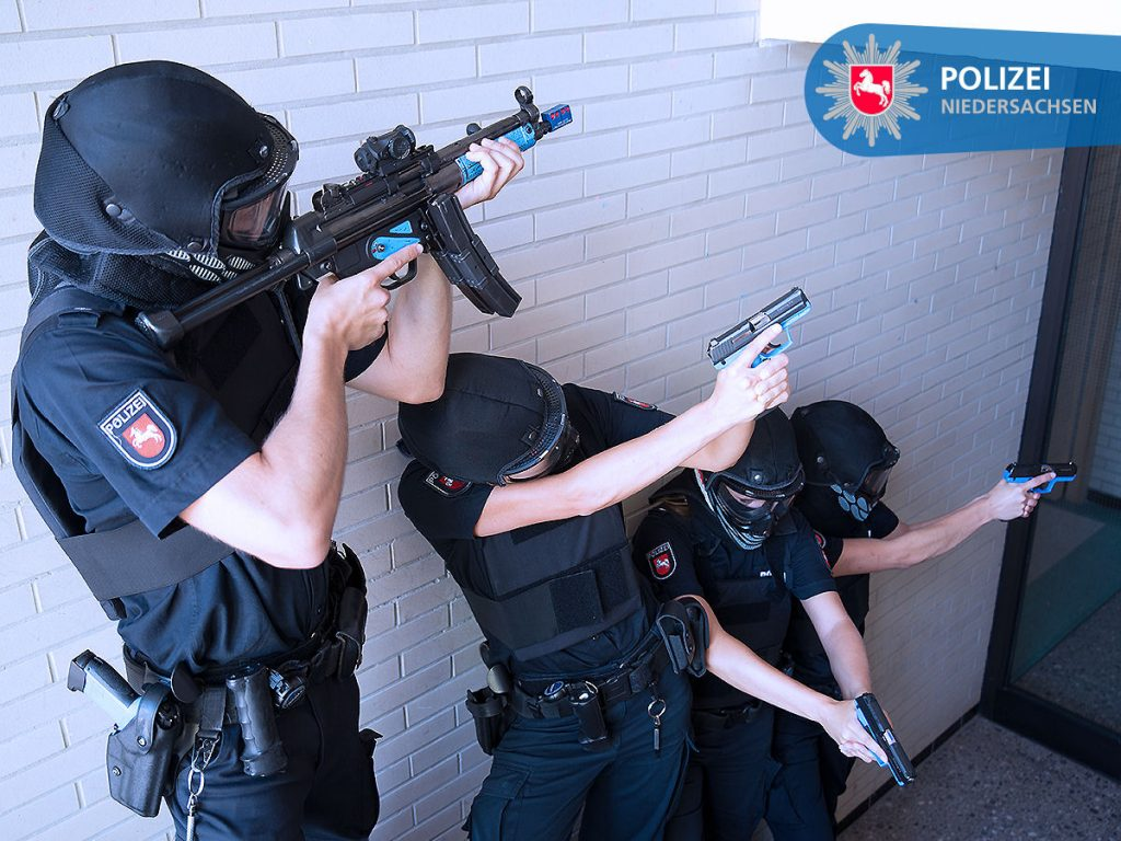 Training für besondere Lagen an der Polizeiakademie Niedersachsen