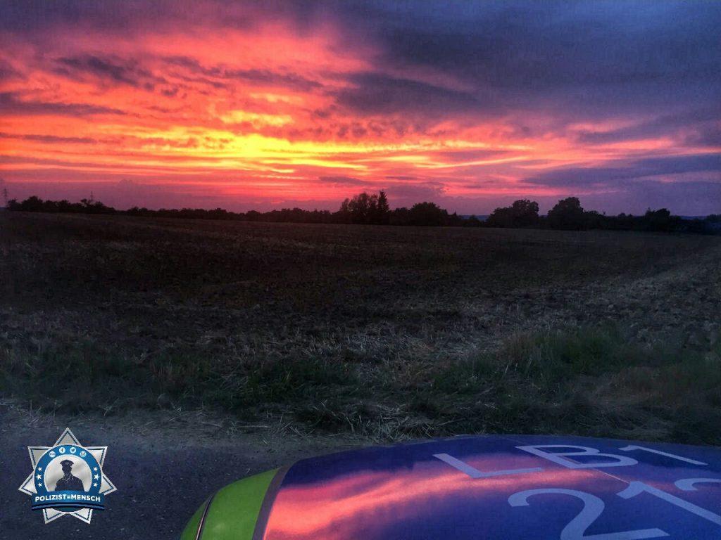 """""""Sonnenuntergang und vor uns liegt die Nachtschicht! Grüße von Alex aus Bietigheim-Bissingen"""""""