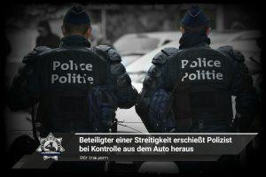Wir trauern: Beteiligter einer Streitigkeit erschießt Polizist bei Kontrolle aus dem Auto heraus