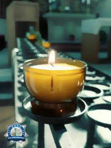Eine Kerze für die heutigen Einsatzkräfte