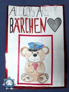 Geburtstagskarte: All Cops Are Bärchen