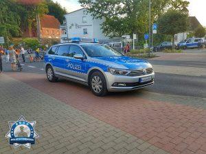 Anerkennung für die Polizei beim Einsatz auf Rügen