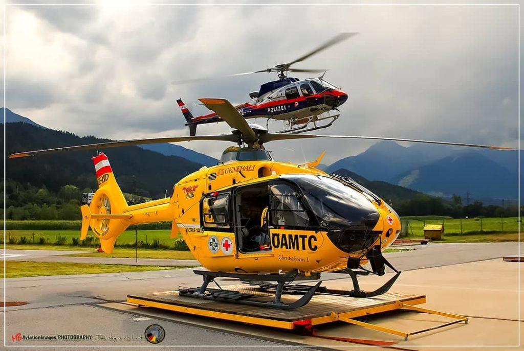 Immer für euch bereit, immer für euch im Einsatz - die Flugpolizei und die Luftrettung!