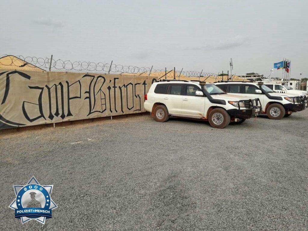"""""""Schöne Grüße in die Heimat von den Feldjägern aus Bamako (Mali)!"""""""