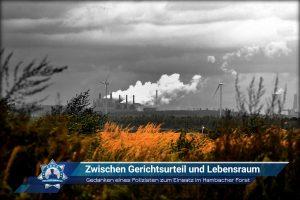 Gedanken eines Polizisten zum Einsatz im Hambacher Forst: Zwischen Gerichtsurteil und Lebensraum